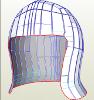 Medieval Openface Helmet cropped