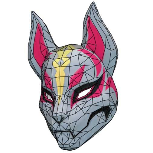Fortnite Drift Mask Printable Drift Mask Fortnite Papercraftplaza